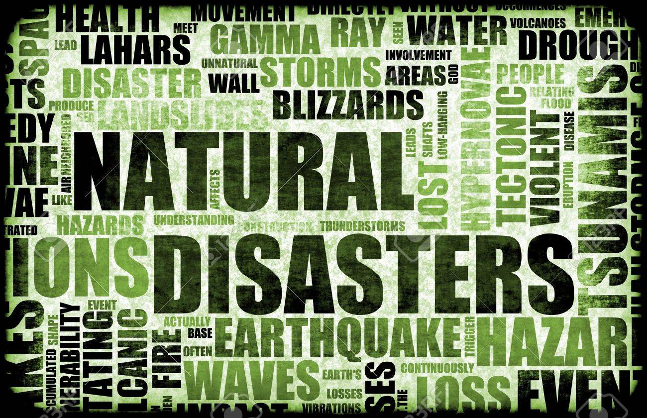 Natural Disasters Grunge as a Art Background Stock Photo - 6684199