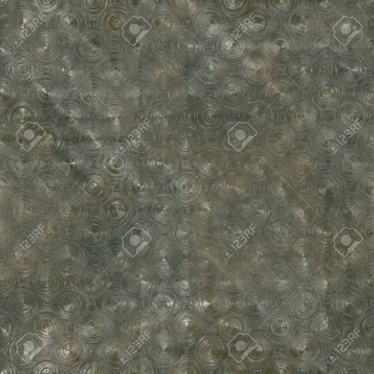 Seamless Pressed Metal Texture Background as Art Stock Photo - 6742994