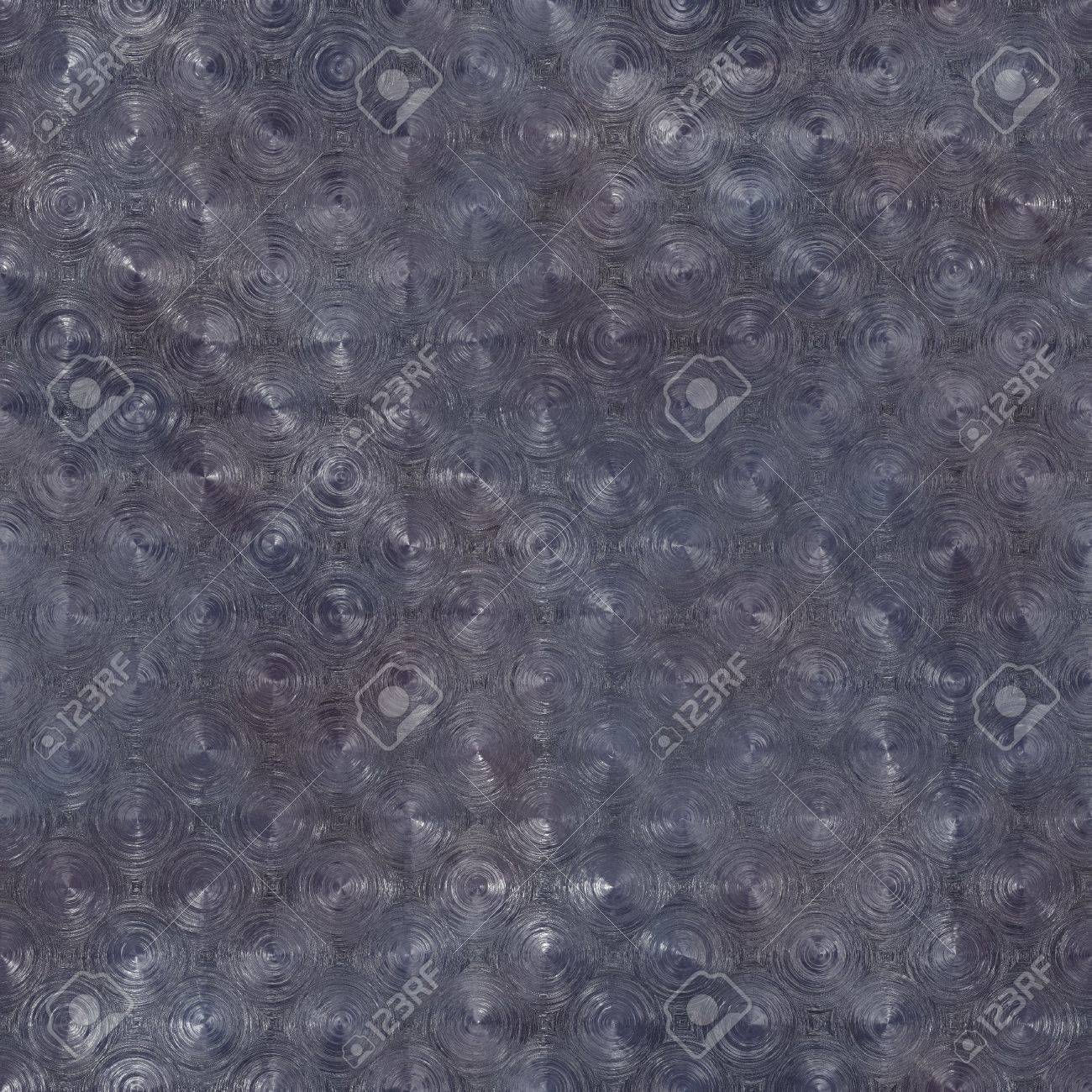 Seamless Pressed Metal Texture Background as Art Stock Photo - 6764707