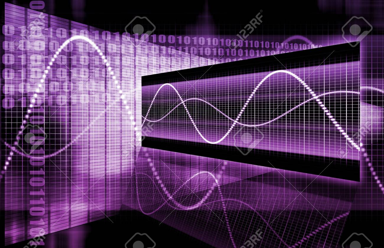 A Multimedia Technology Data as Art Background Stock Photo - 6772834