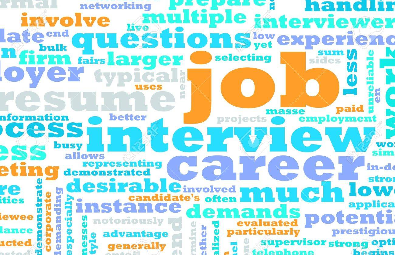 Job Interview Preparation As A Career Stock Photo, Picture And ...