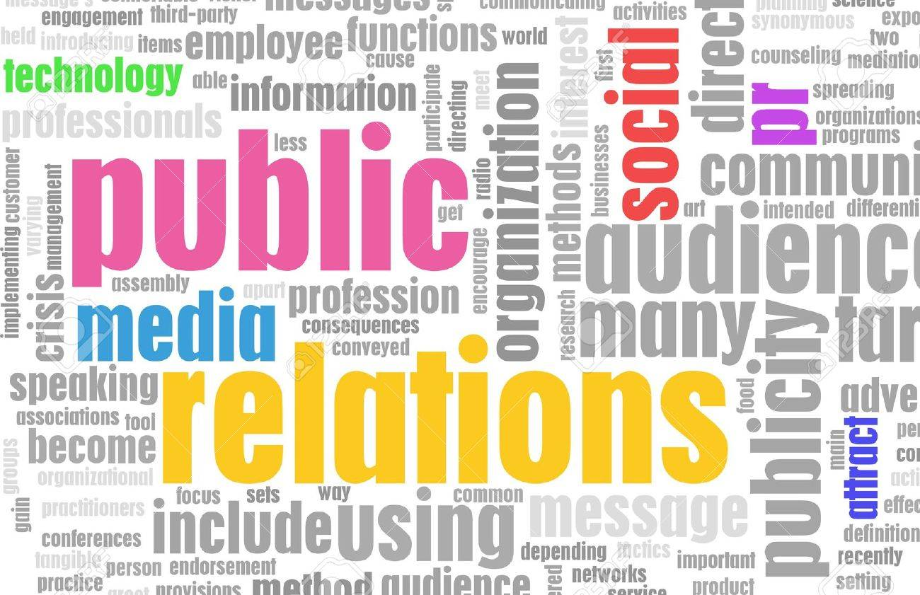Public Relations PR Concept as a Abstract Stock Photo - 6814779