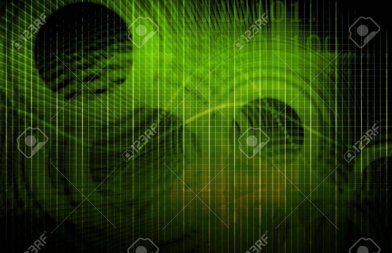 Medical Science Futuristic Technology as a Art Stock Photo - 6841483