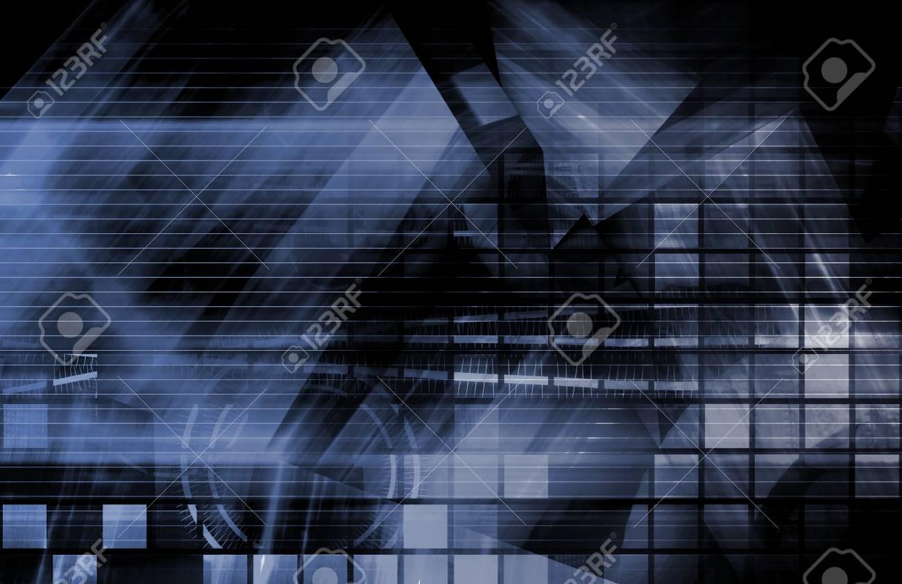 Modern Digital Background as a Creative Art Stock Photo - 6848024