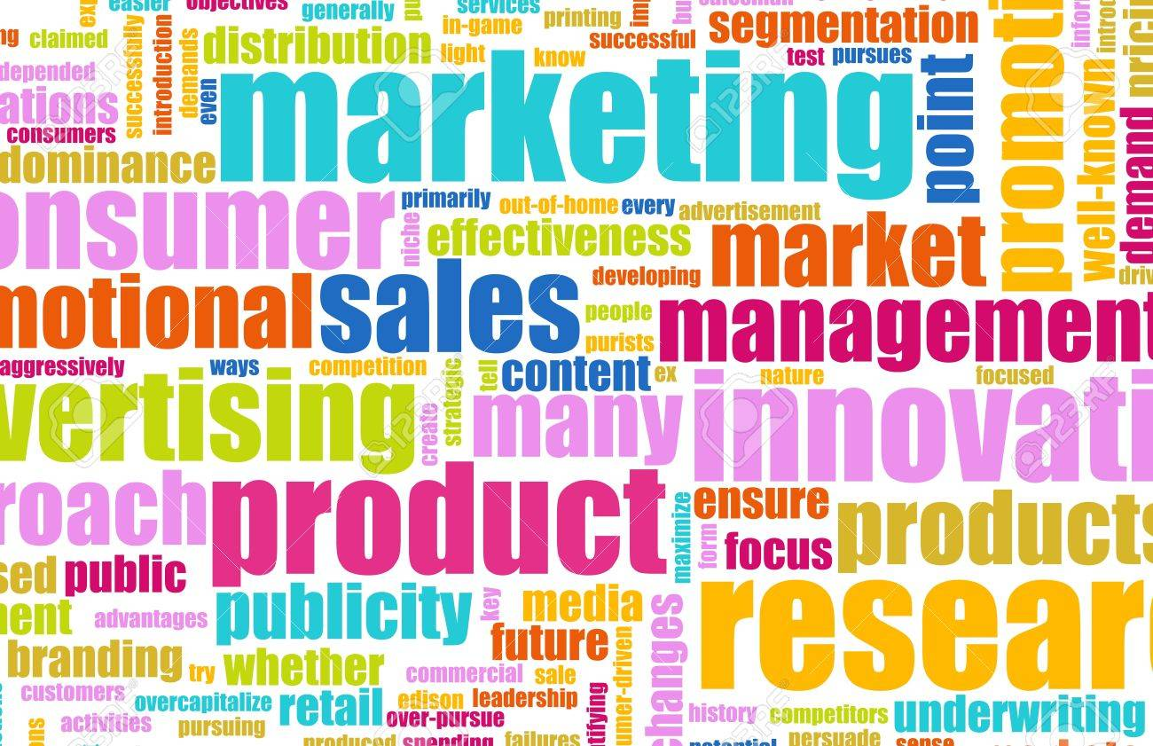 Sales and Marketing Strategy Campaign as a Art Stock Photo - 6902174