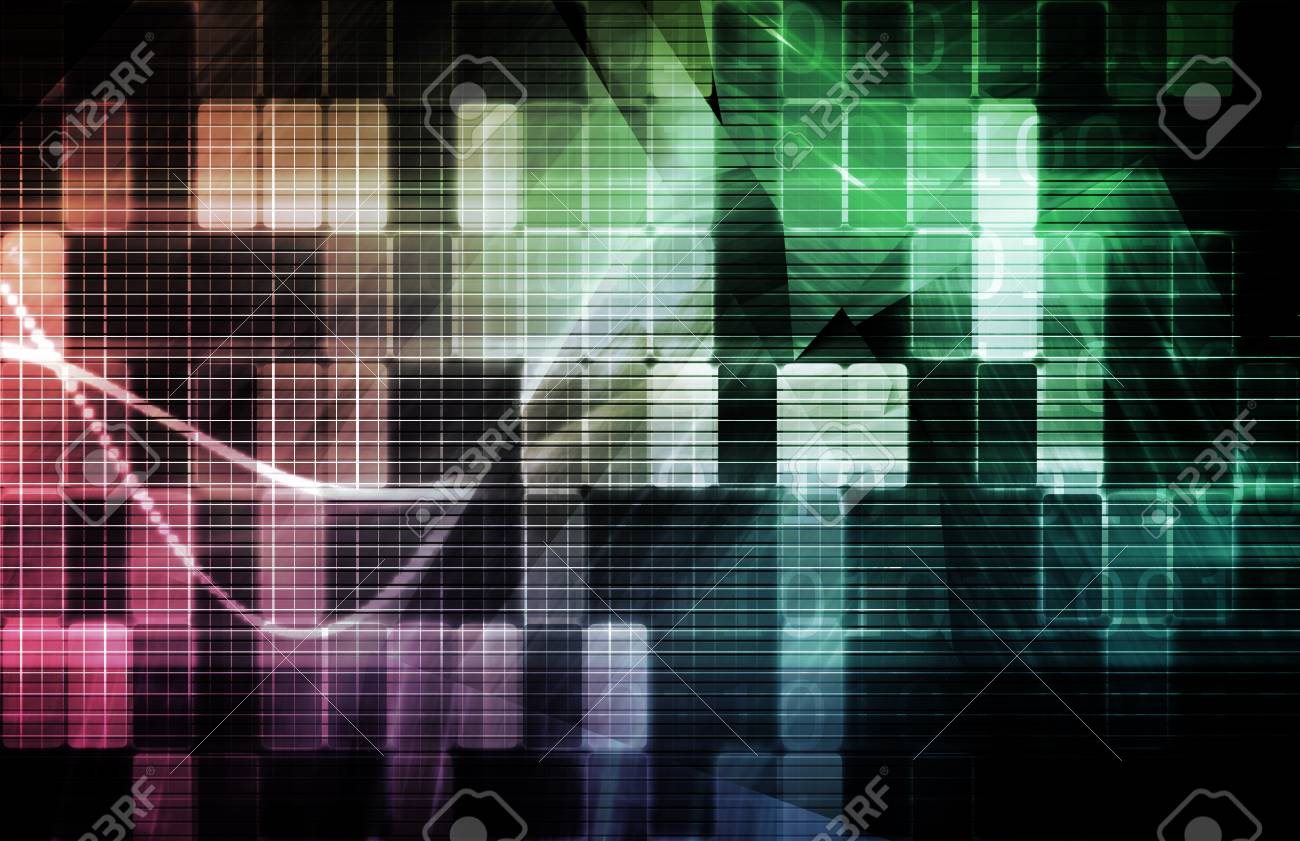 Data Network with Fast Moving Data Packets Stock Photo - 6902183