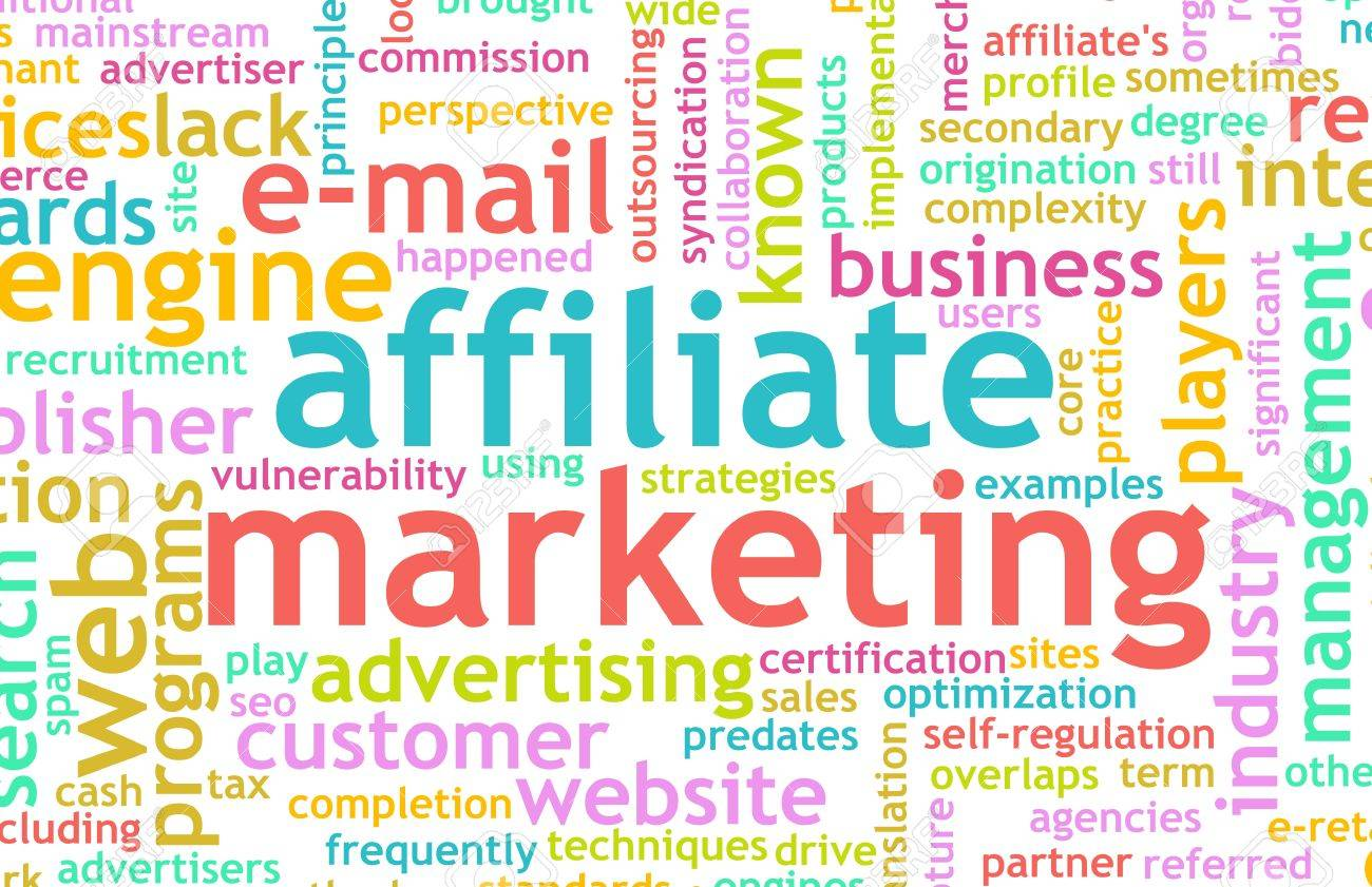 Affiliate Marketing Web Concept as a Abstract Stock Photo - 7027979