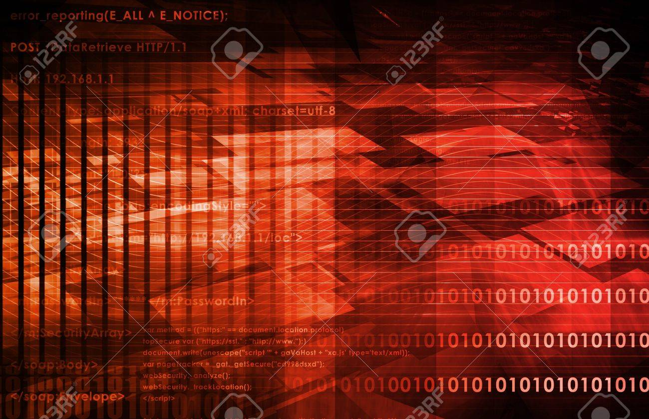 Online Security Internet Concept as a Background Stock Photo - 7249031
