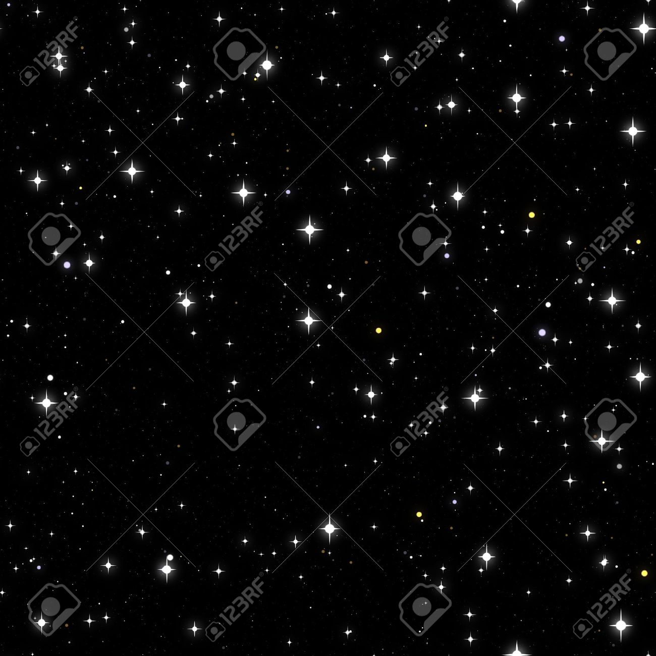 Starry Sky Motion Background, Full HD Stock Footage Video 4102681 ...