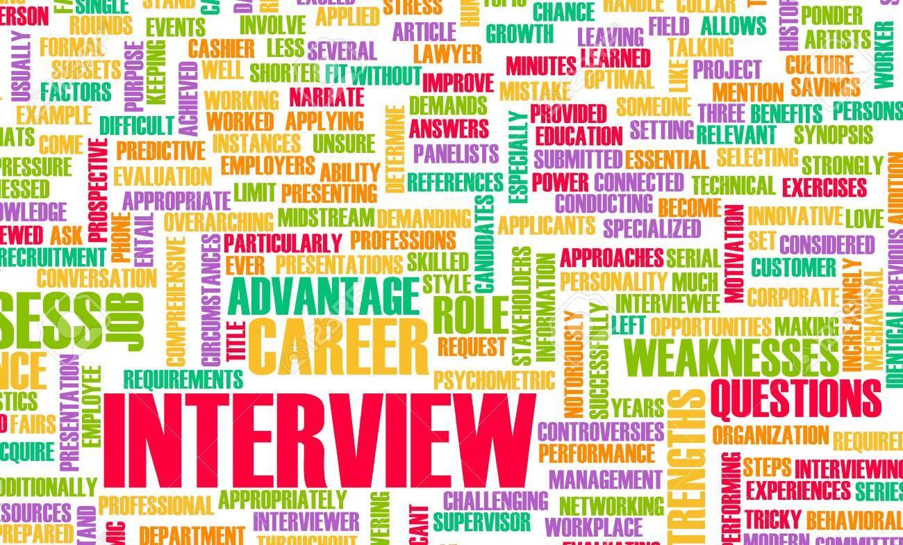 job interview concept career questions idea stock photo job interview concept career questions idea stock photo 8820692