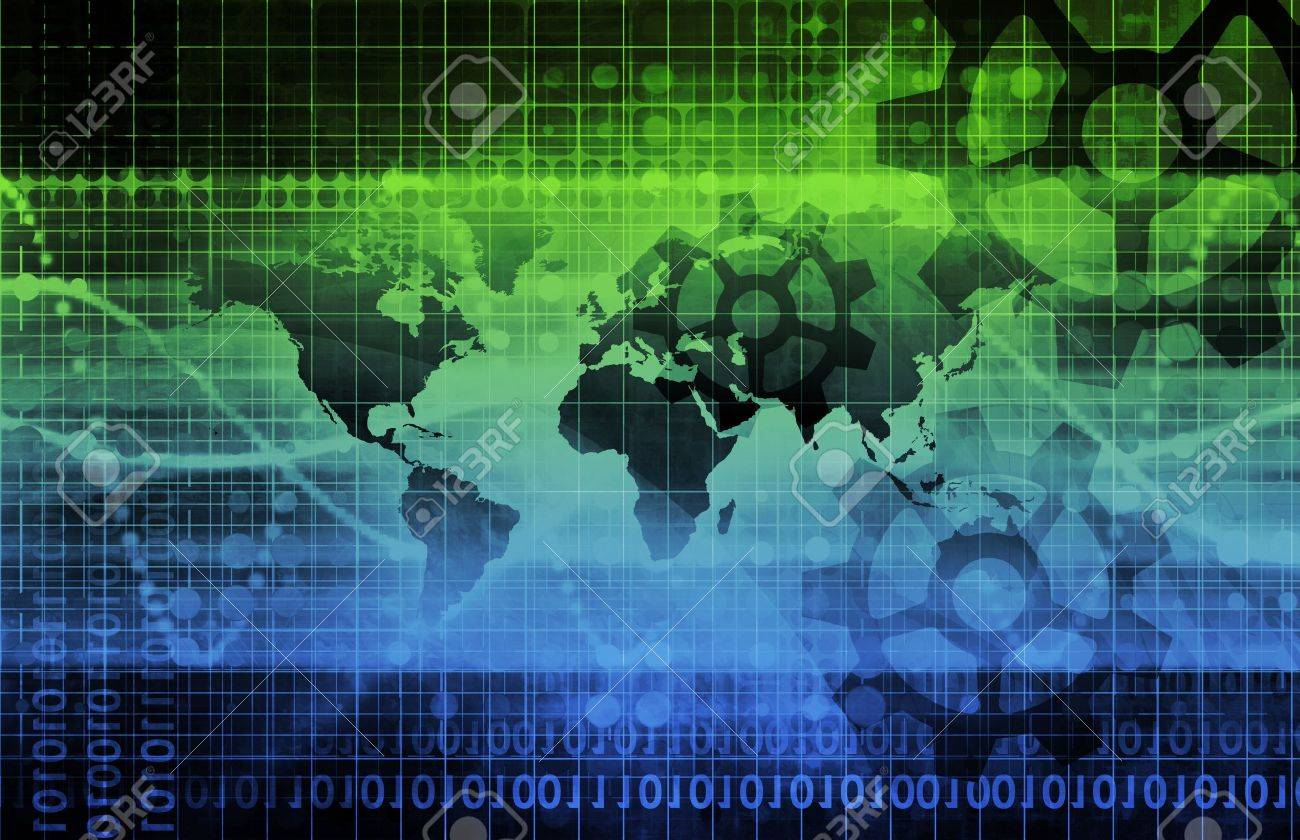 Global Integration of Technologies as a Concept Stock Photo - 9022626