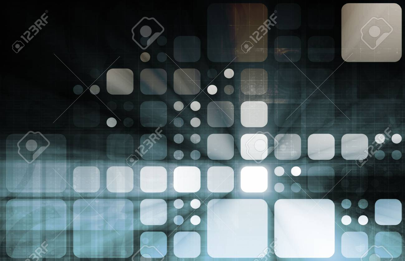 Systems Development with New Technology as Art Stock Photo - 9148024