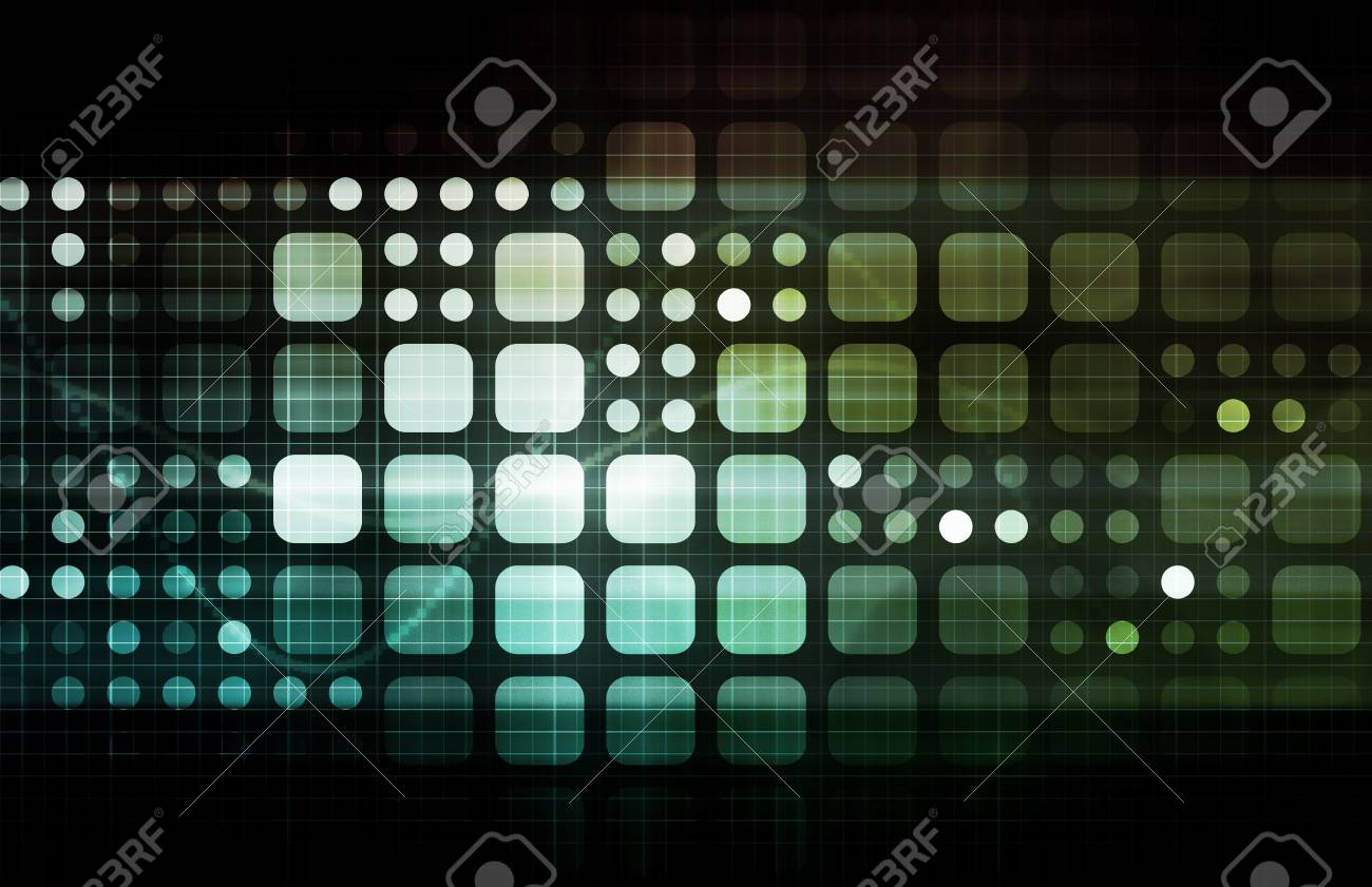 Network Security With Internet Data as Concept Stock Photo - 9148045