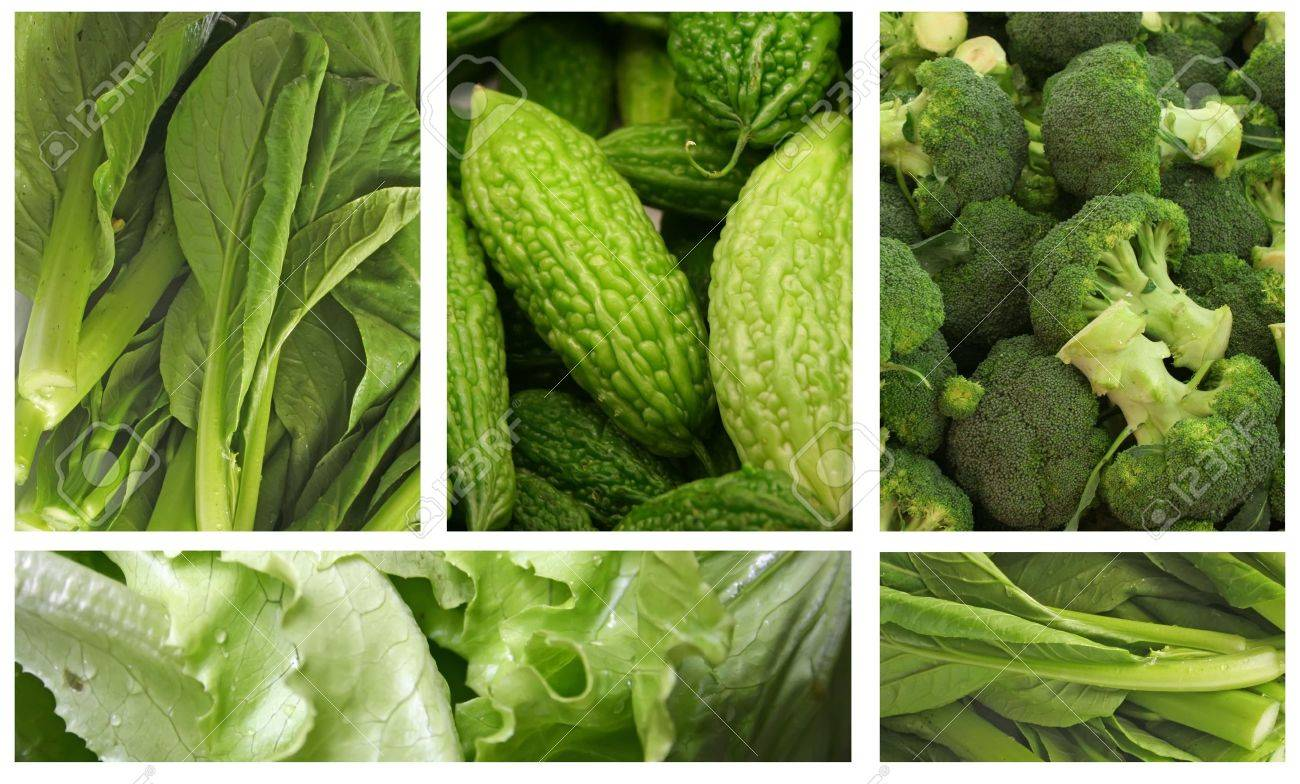 Green Vegetables for a Healthy Eating Lifestyle Stock Photo - 9235611