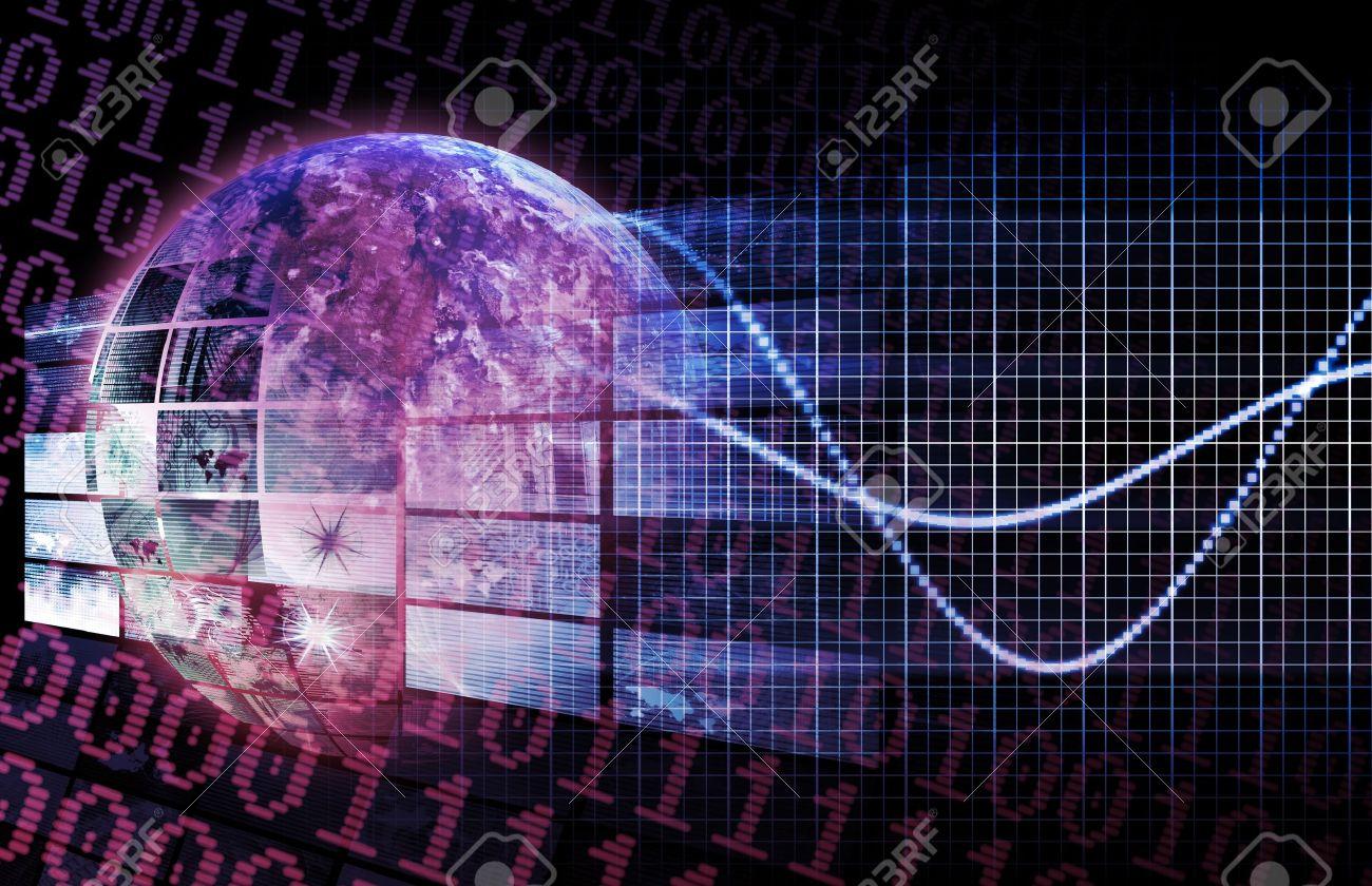 Technology Platform in a Modern Business World Stock Photo - 9249779