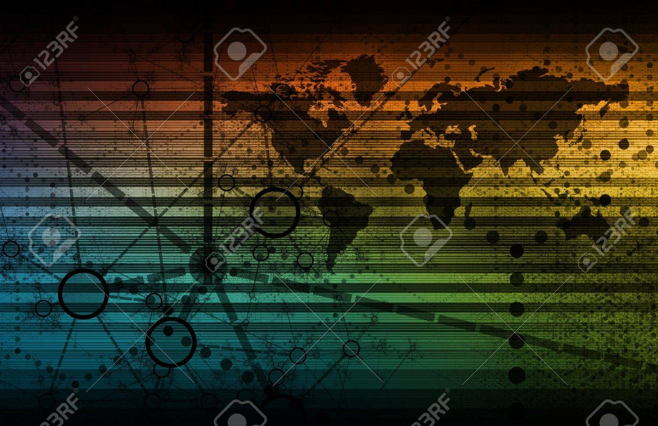 Internet Web Technology as Shared Data Services Stock Photo - 9301012