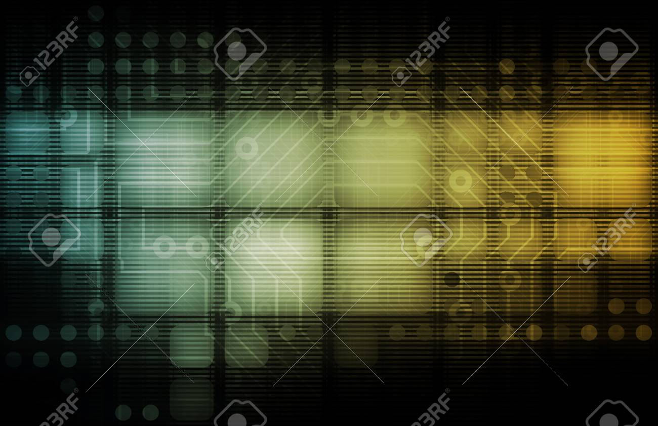 Systems Development with New Technology as Art Stock Photo - 9400254