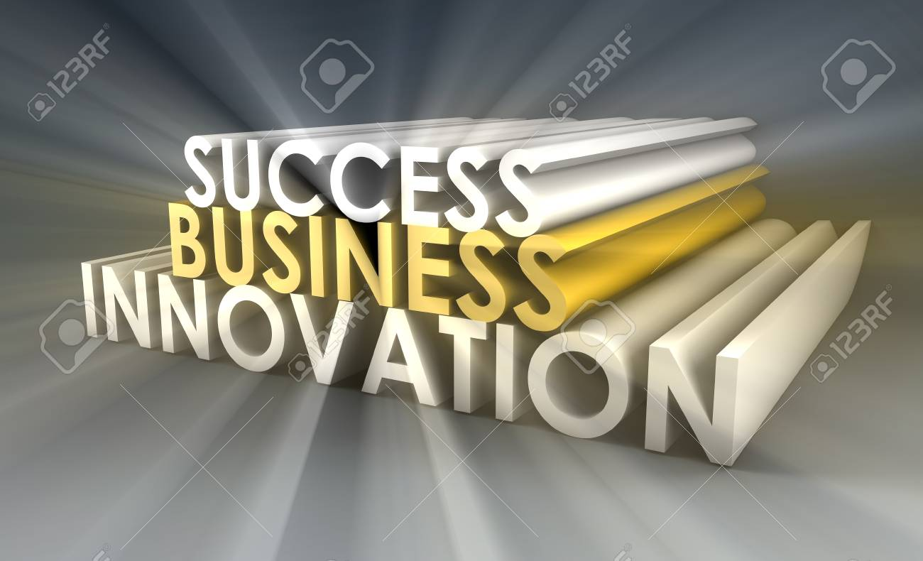 Business Innovation as an Important Idea in 3d Stock Photo - 9400250
