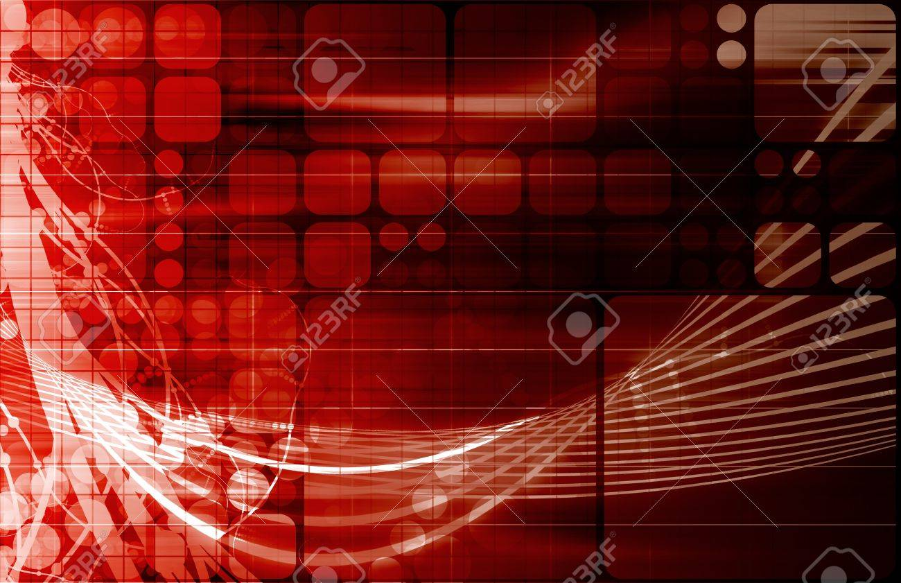 Information Technology or IT Infotech as a Art Stock Photo - 9418220