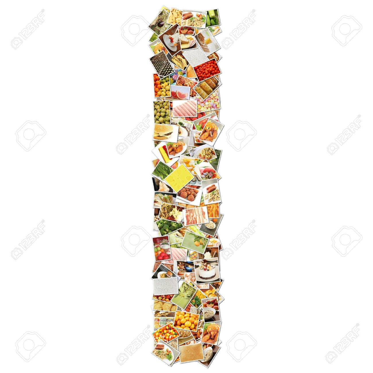 letter i food collage concept art stock photo picture and letter i food collage concept art stock photo 9691825