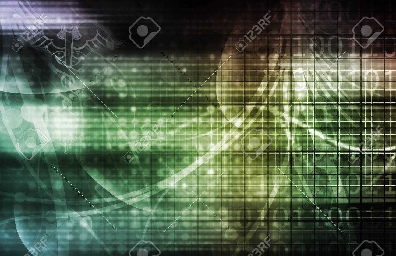 Medical Industry Background Technology as a Art Stock Photo - 9751059