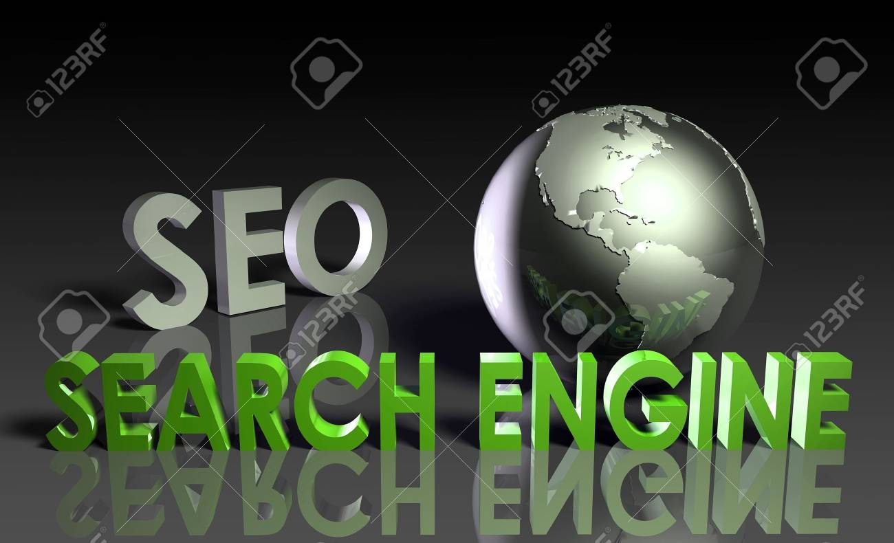 Search Engine Optimization SEO Ranking as Concept Stock Photo - 9842202