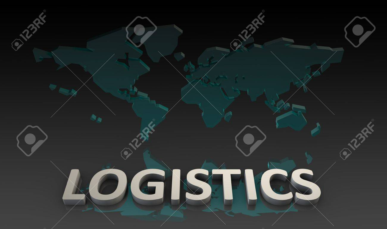 Global Logistics Management Processes As a Art Stock Photo - 10066946