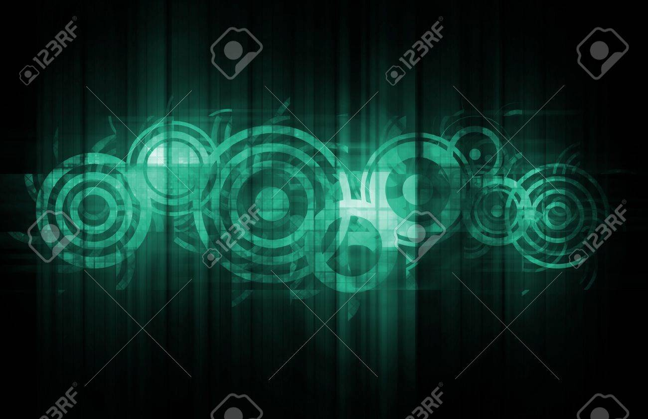 Corporate Communications As a New Technology Art Stock Photo - 10451635