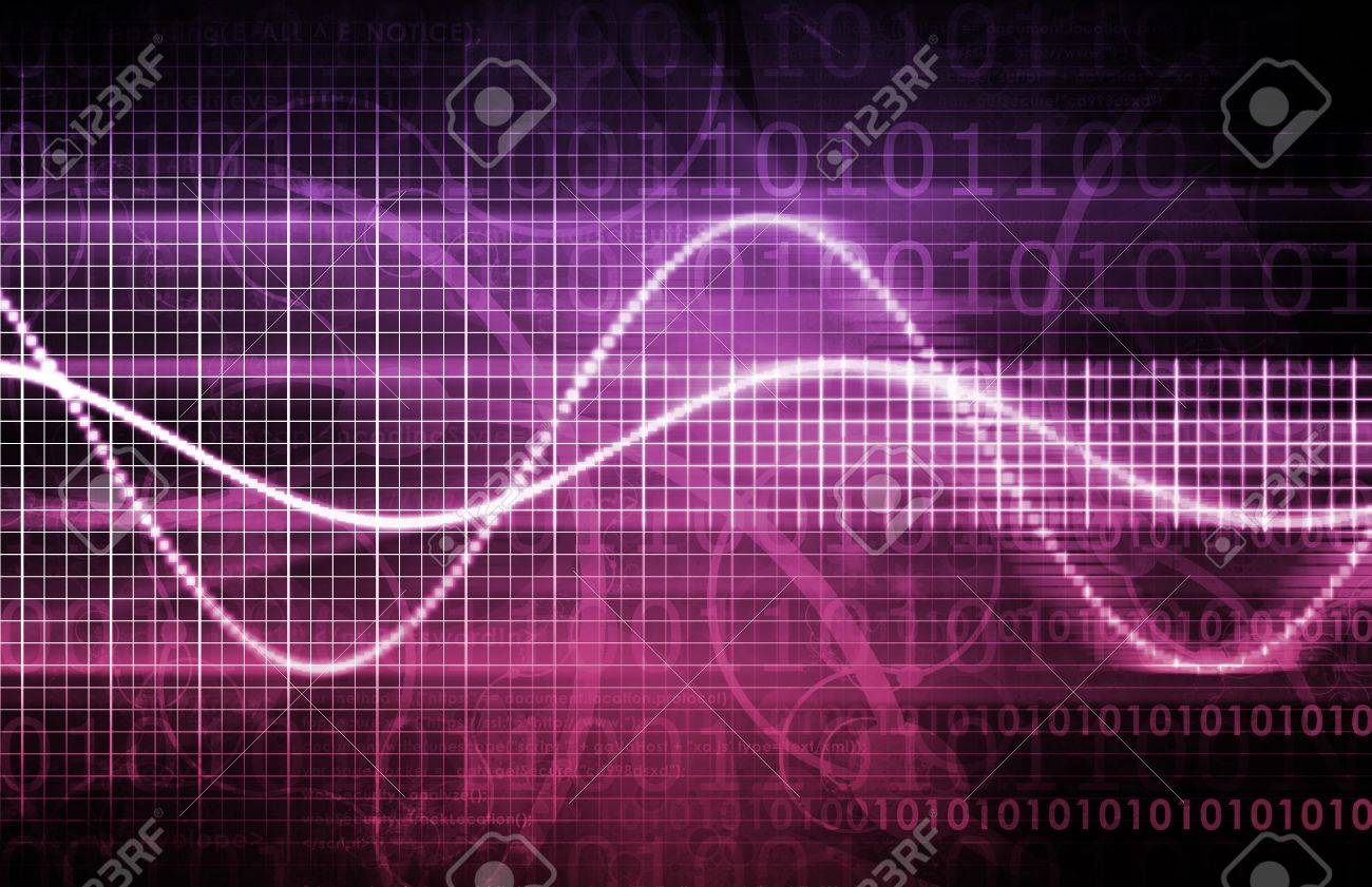 Abstract Background with a Technology Theme Art Stock Photo - 11807642