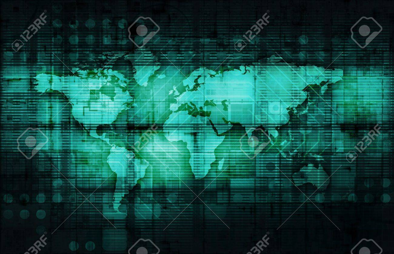 Corporate Technology Industry and Startup as Art Stock Photo - 12437269