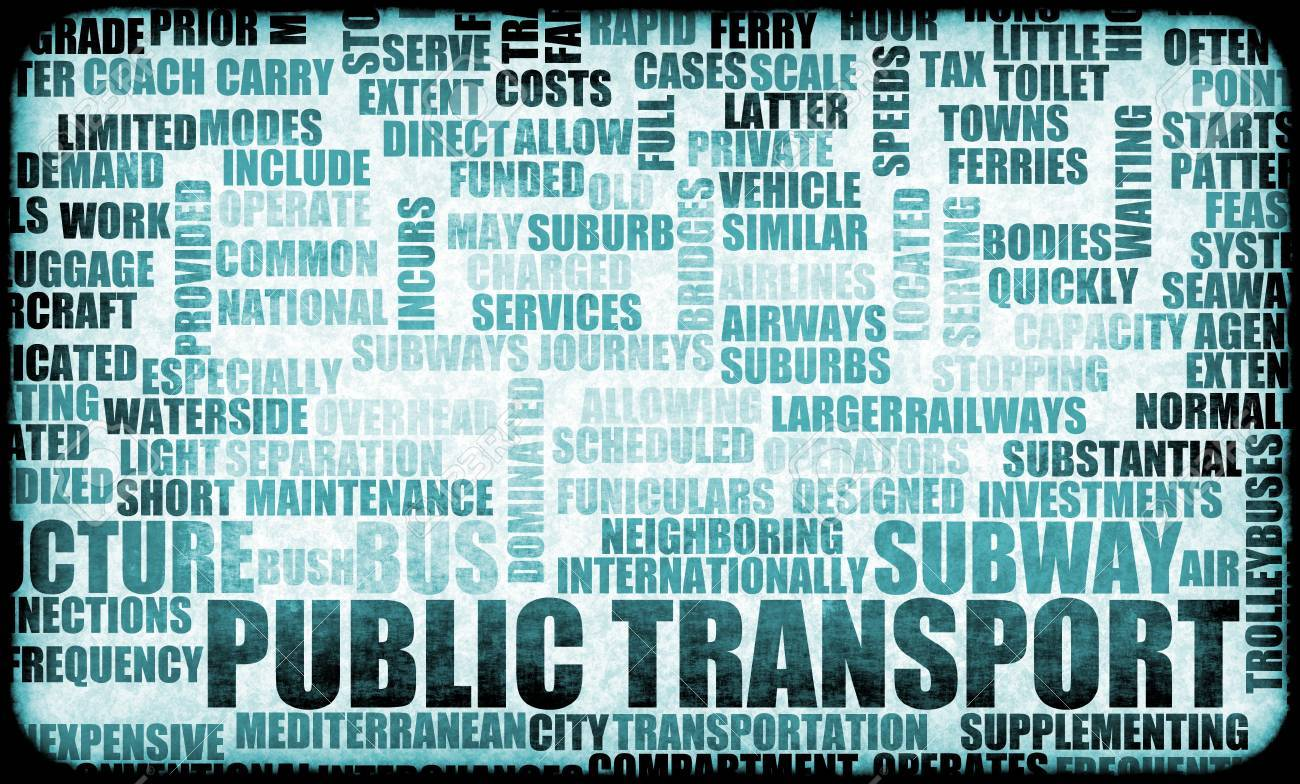 public transport woes as a concept background stock photo picture