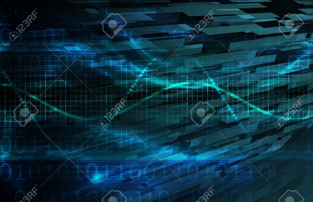 Digital Network as a Business Requirement Art Stock Photo - 12783082
