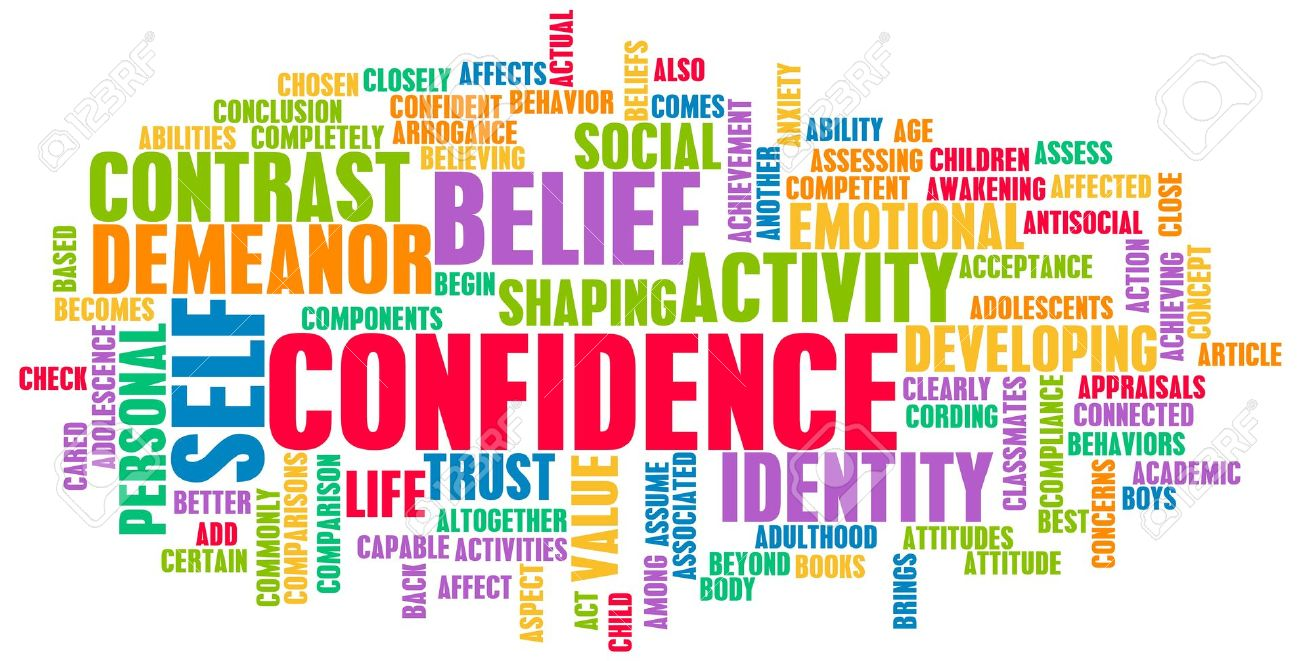 confidence in personal belief and self developing stock photo confidence in personal belief and self developing stock photo 18975160