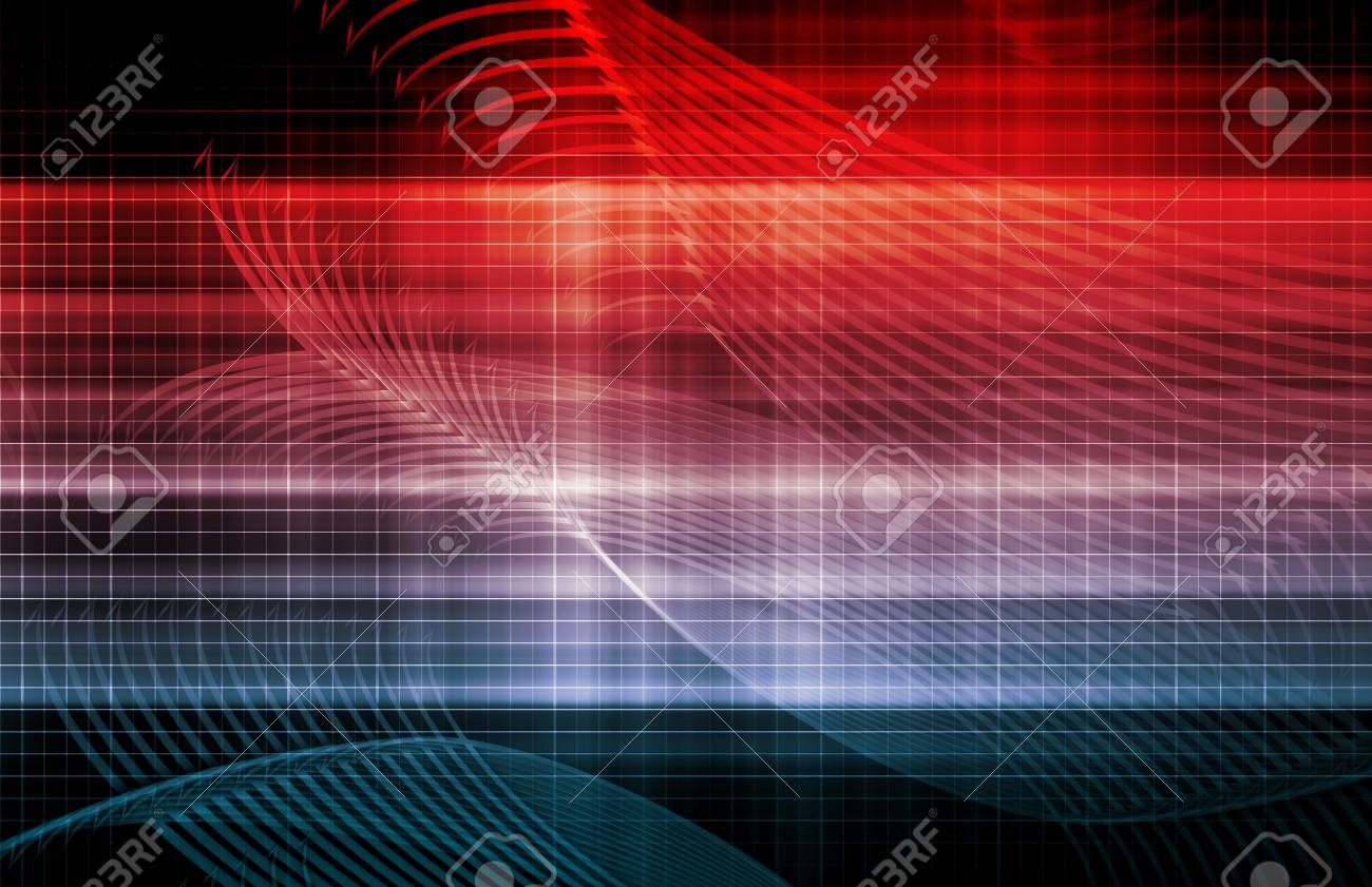 Computer Background with Technology As a Art Stock Photo - 19215227