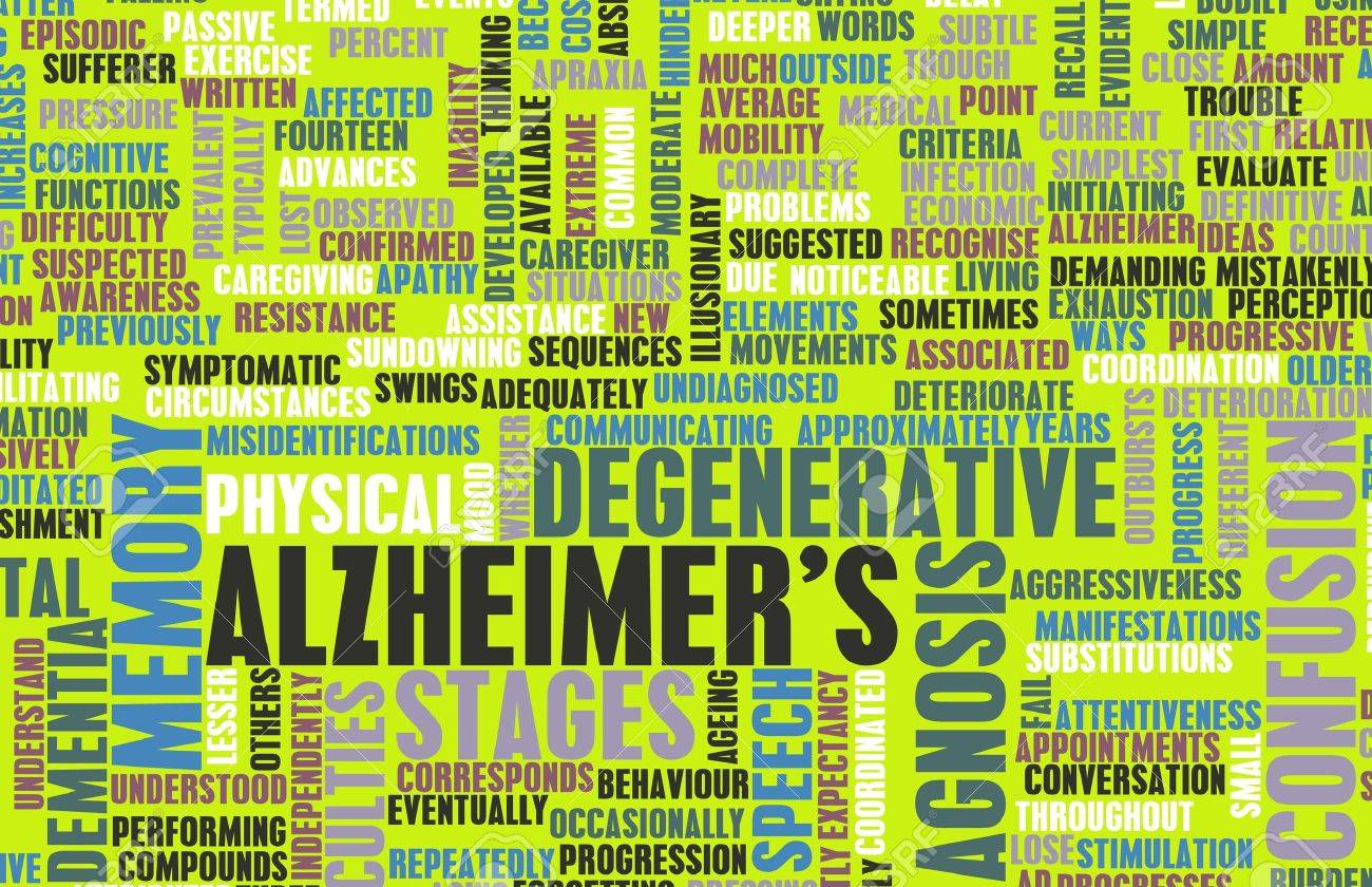 Alzheimer's or Dementia as a Medical Condition Stock Photo - 20138351