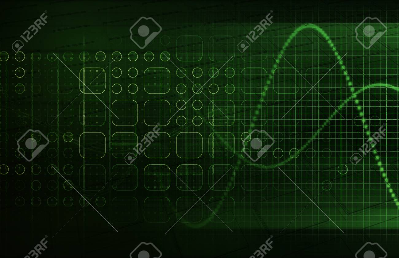 Genetics and the Genetic Code Science Concept Stock Photo - 20612386