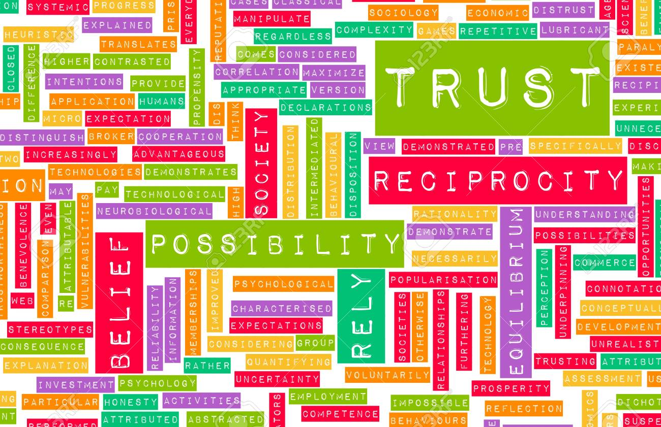 Concept of Trust and Belief in a Person Stock Photo - 20897491