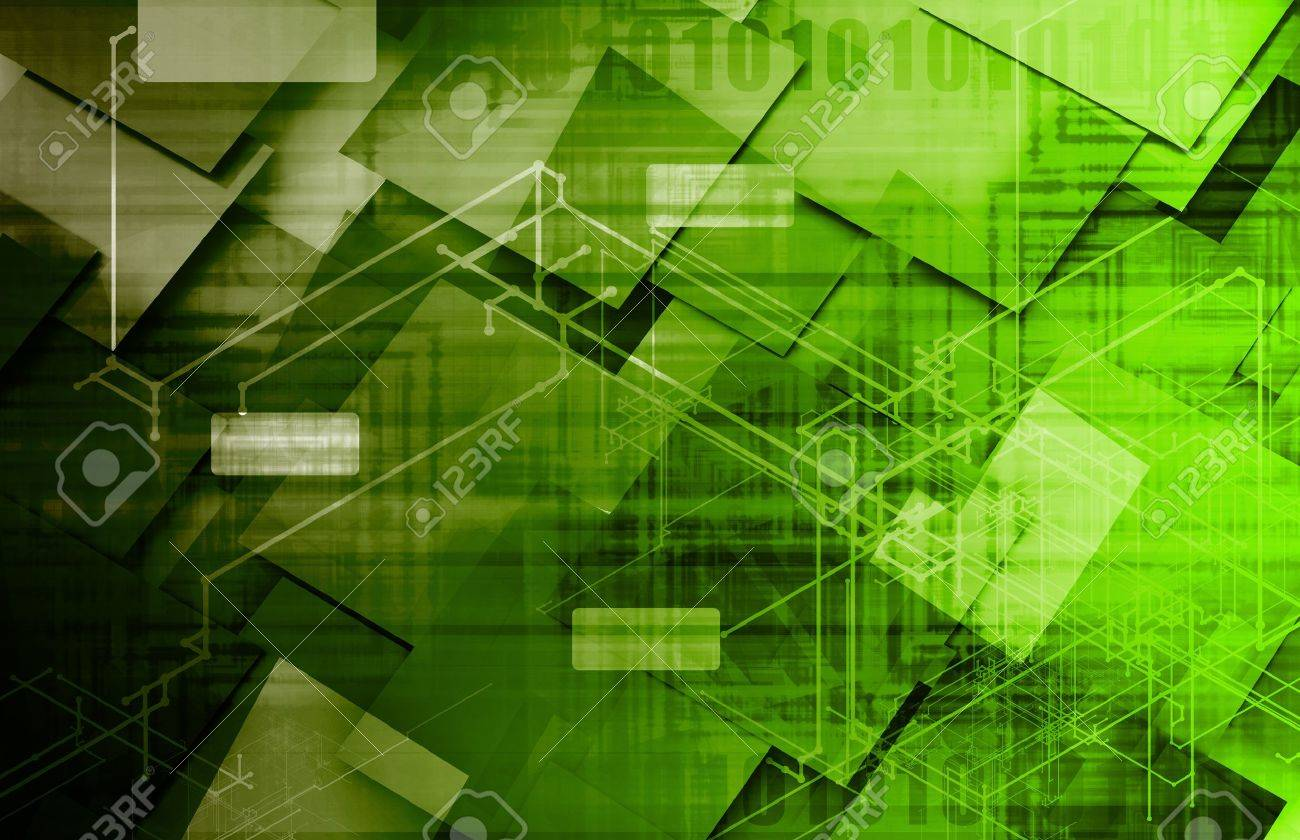 Technology Framework with a System Network Big Data Stock Photo - 21914214