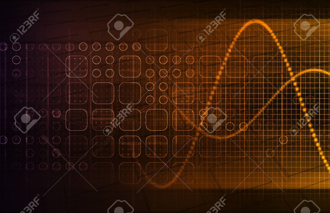 Genetics and the Genetic Code Science Concept Stock Photo - 22802109