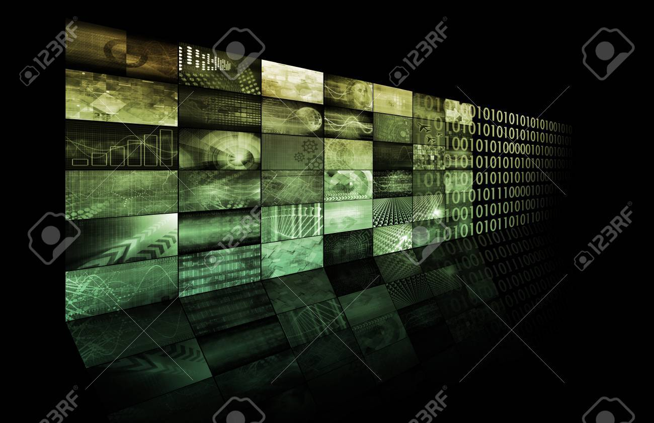 Marketing Tools for Online Advertising Campaign Art Standard-Bild - 23537068