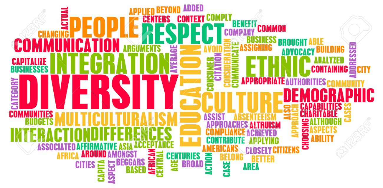 Diversity in Culture and People as a Concept Standard-Bild - 25908094