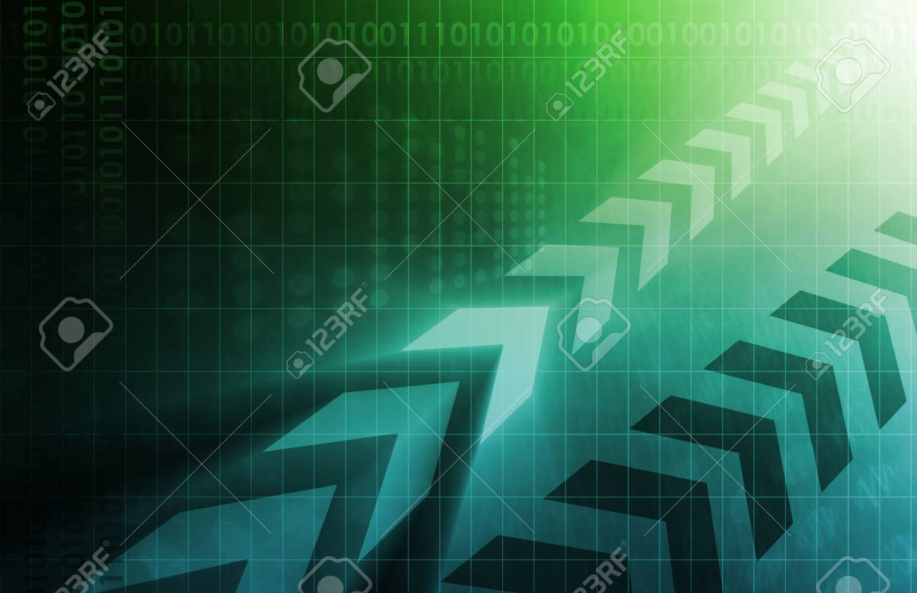 Industry Trends or Business Trending of Data Stock Photo - 27415010