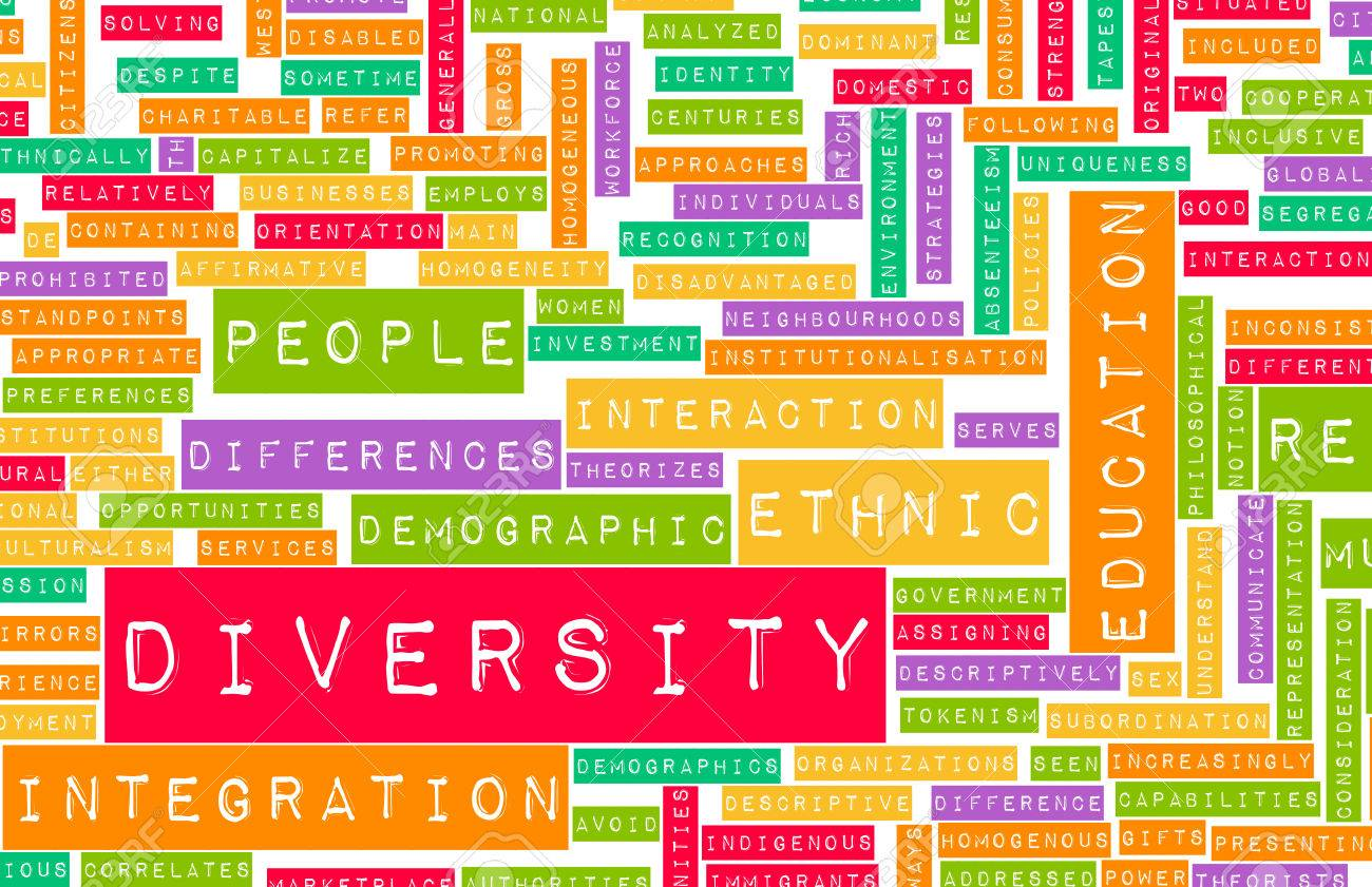 Diversity in Culture and People as a Concept Standard-Bild - 28801842