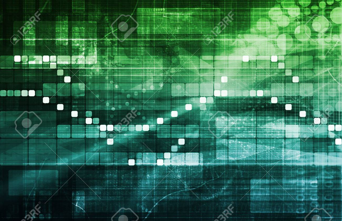Data Processing as System and Business Informatics Standard-Bild - 28801827