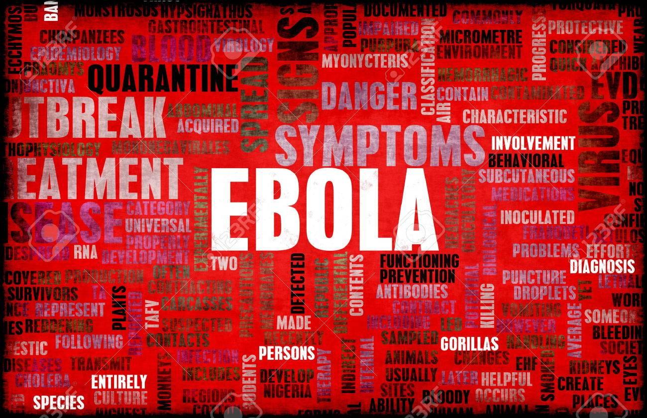 Ebola Virus Disease Outbreak and Crisis Art Standard-Bild - 30988984