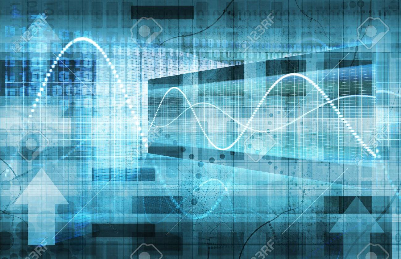 Business Analysis and Data Technology as a Concept Standard-Bild - 32303793