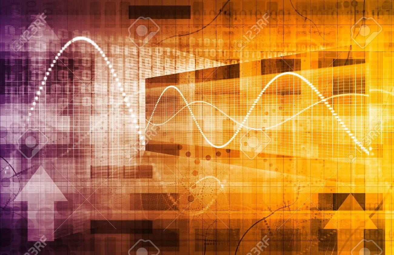 Business Analysis and Data Technology as a Concept Standard-Bild - 32936992