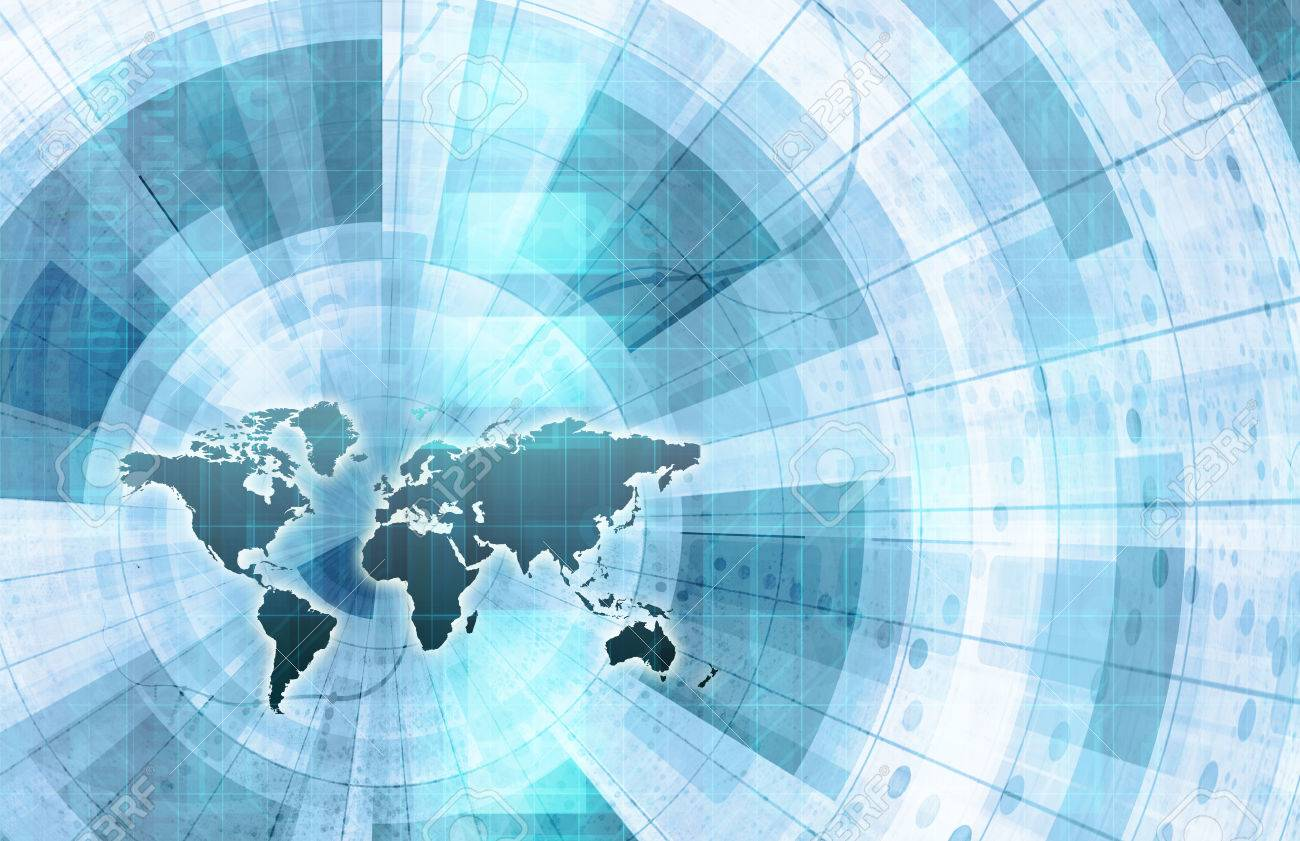 Global integration network with world map as art stock photo global integration network with world map as art stock photo 34150515 gumiabroncs Choice Image