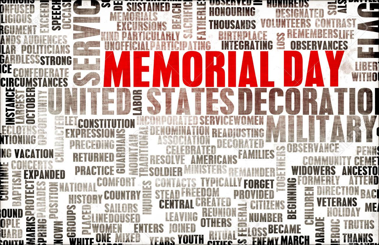Memorial Day and Remembering Our Fallen Soldiers Standard-Bild - 39202530