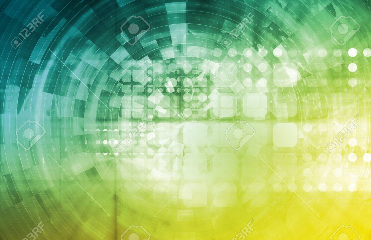 Healthcare Technology and Monitoring Medical As Art Standard-Bild - 39759543